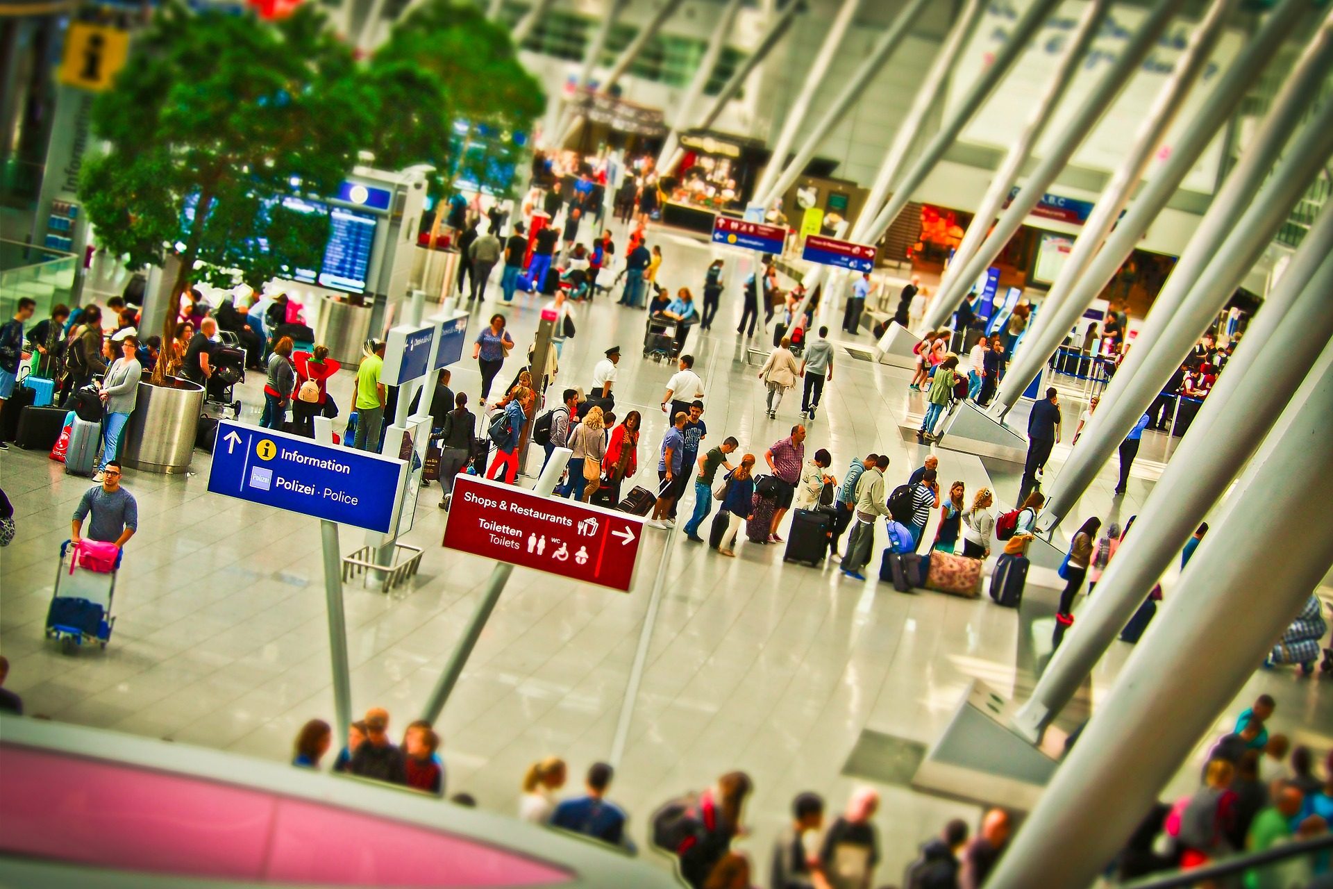Check-In Flughafen